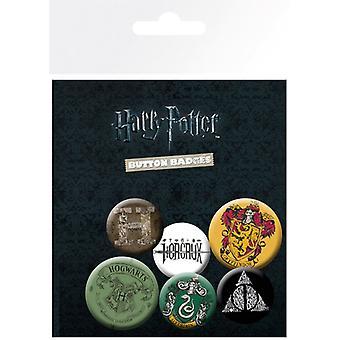 Harry Potter Se amestecă Pin Buton Insigne Set