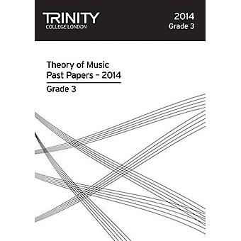 Trinity College London Music Theory Past Papers (2014) Grade 3 by Tri
