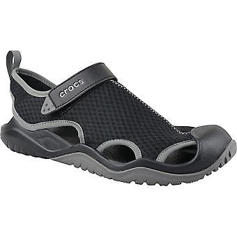 Crocs M Swiftwater Mesh Deck Sandale 205289001 universelle Sommer Herren Schuhe