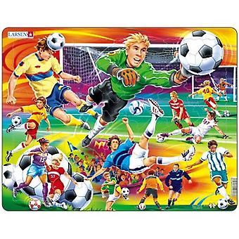 Larsen Jigsaw Puzzle - Football (soccer), 65 Piece