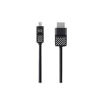 Belkin Mini Displayport To HDMI Cable -  Black