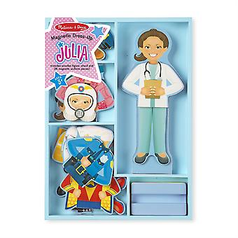 Melissa e Doug bambini Julia Magnetic Dress Up Set 3 anni