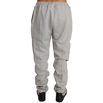 Gray cotton sweater pants tracksuit a62