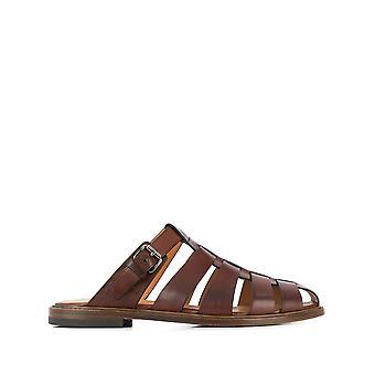 Church's Ex00059adjf0aam Men's Brown Leather Sandals