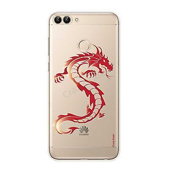 هال ل Huawei P الذكية 2018 التنين الأحمر الناعم