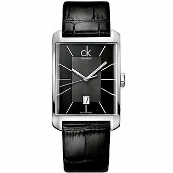 Calvin Klein K2M21107 Window Grey Dial Men's Watch