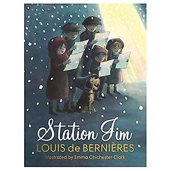 Station Jim - A sweet and heart-warming illustrated Christmas tale for