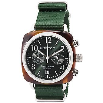 Briston Clubmaster Classic Quartz Mens Watch 15140.SA.T.10.NBG