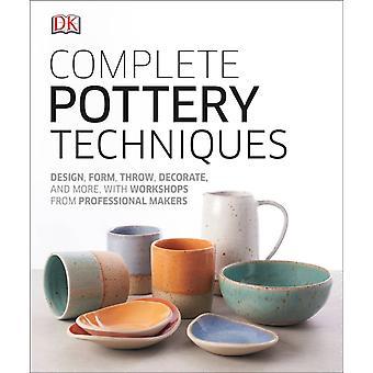 Komplet Keramik Teknikker Design Form Throw Dekorere og mere med workshops fra professionelle beslutningstagere af DK