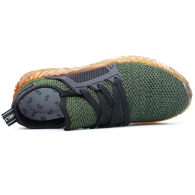 Steel toe puncture proof safety work shoes