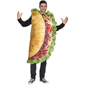 Taco volwassen kostuum