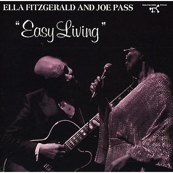 Ella Fitzgerald - lätt lever [CD] USA import