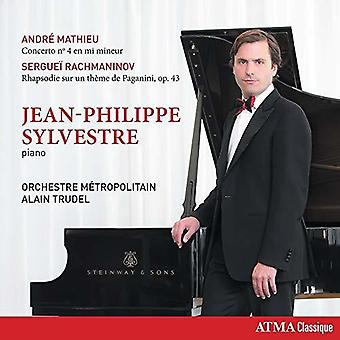 Rachmaninoff / Sylvestre / Orchestre Metropolitain - Concerto 4 in E Minor / Rhapsody on a Theme 4 [CD] USA import