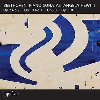 Beethoven, L. Hewitt, Angela - 5 sonates pour Piano - Piano sonates Opp.2 10 78 & 110 [CD] USA import /