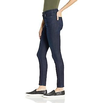 Essentials Women's Skinny Jean, Dark Wash, 12 Regular