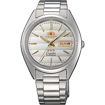 Orient 3 Star Watch FAB00007W9 - Stainless Steel Unisex Automatic Analogue