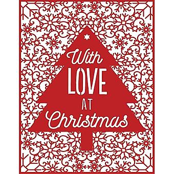 First Edition Christmas Craft a Card Die - With Love