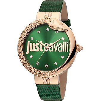 Just Cavalli XL Watch JC1L096L0045 - Leather Ladies Quartz Analogue