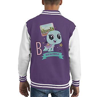 Littlest Pet Shop Bev Gilturtle Kid's Varsity Jacket