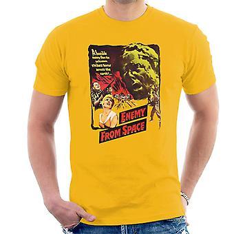 Hammer Horror films Quatermass 2 vijand van ruimtemannen ' s T-shirt