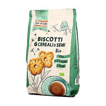 Cookies 6 cereals and seeds 350 g