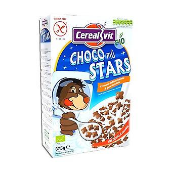 Choco Piu Stars Bio 375 g