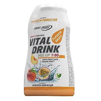 Best Body Nutrition Vital Drink Squeeze Peach Passion fruit 12 x 48 ml