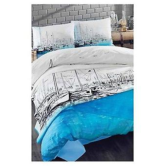 Duvet Patterned Double Cover Set