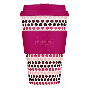 Herbruikbare Take Away Mug - Roze stippen