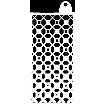 IndigoBlu Moroccan Tile 6x3 Inch Stencil