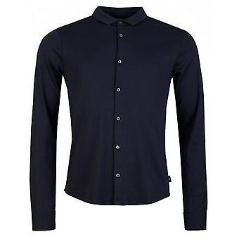 Armani Slim Fit knop via Shirt