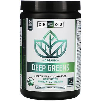 Zhou Nutrition, Organic Deep Greens, 9.6 oz (273 g)