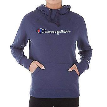 Champion Women's Fleece Pullover Hoodie, Imperial Indigo, Medium