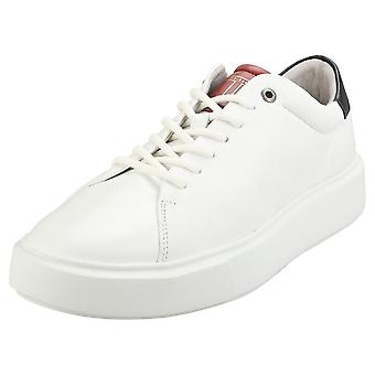 Ted Baker Refans Mens Casual Trainers in White Blue Red