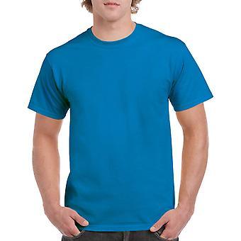 Gildan G5000 Plain Heavy Cotton T Shirt in Sapphire Blue