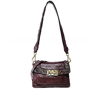 Campomaggi Agnese Leather Studded Crossbody Bag