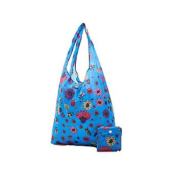Eco-Chic Eco-chic Foldable Shopper (blue Bee)