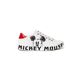 Chaussures Desiguales Cosmic Mickey Mouse Baskets blanches 20WSKP37