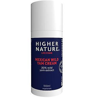 Higher Nature Mexican Wild Yam Cream 100ml (MYC100)