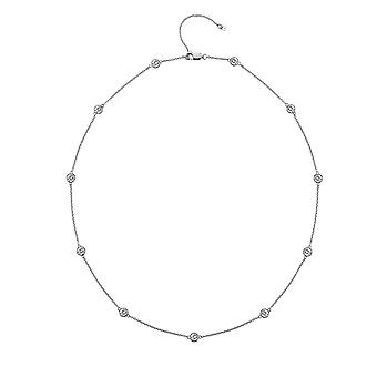Hot Diamonds silver Tender 45cm halsband DN130