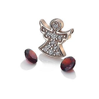 Anais Hot Diamonds Anais Rose Gold Plated Angel Charm AC105