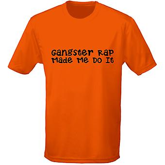 Gangster Rap Made Me Do It Mens T-Shirt 10 kleuren (S-3XL) door swagwear