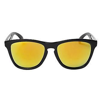 Cheapo Bodhi Sunglasses - Black / Yellow Mirror