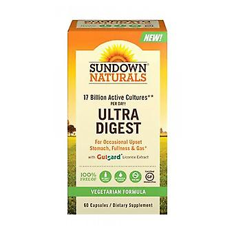 Sundown Naturals Ultra Digest, 12 X 60 Caps