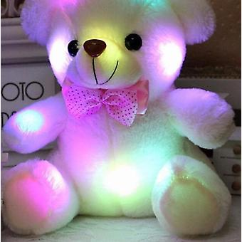 25cm High Quality Luminous Plush Teddy Bear