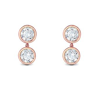 Earring Tragus 18K Gold and Diamonds