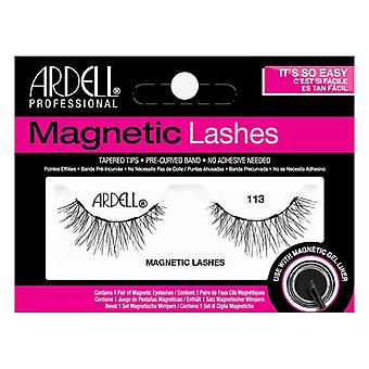 Ardell Tapered Tips Magnetic Lashes - 113 - Use with Magnetic Gel Liner