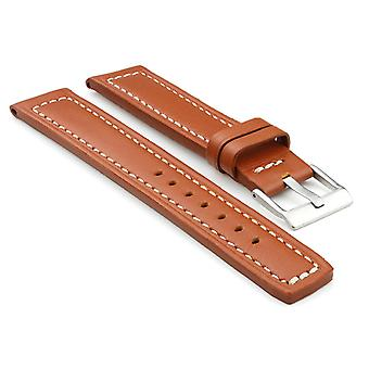 Strapsco thick leather watch band