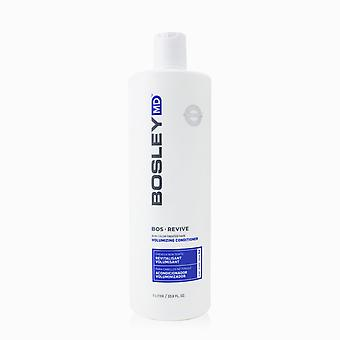 Bosley md bos revive non color treated hair volumizing conditioner 255811 1000ml/33.8oz