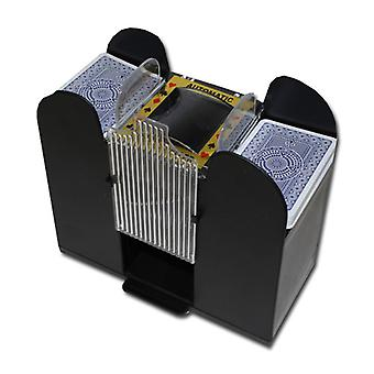 6 Deck automaattinen kortti Shuffler-paristokäyttöinen